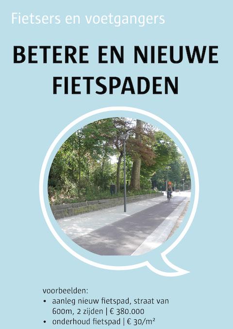 betere en nieuwe voetpaden