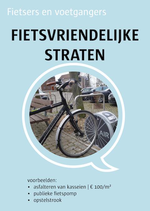 fietsvriendelijke straten