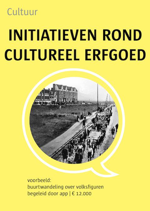 initiatieven rond cultureel erfgoed