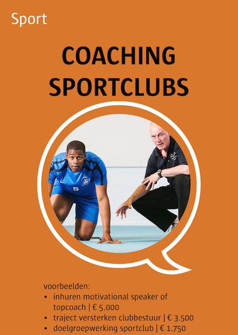 coaching voor sportclubs