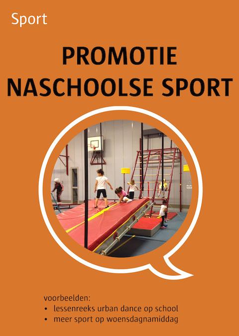 promotie naschoolse sport