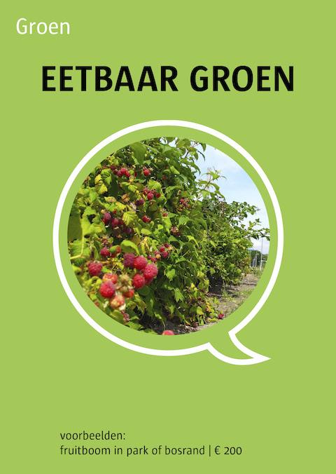 eetbaar groen