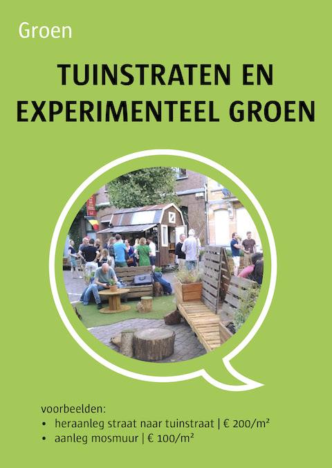 tuinstraten en experimenteel groen