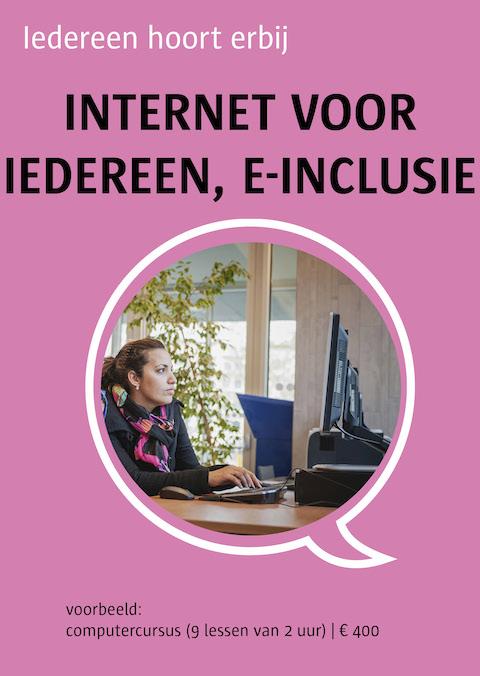 internet voor iedereen, e-inclusie