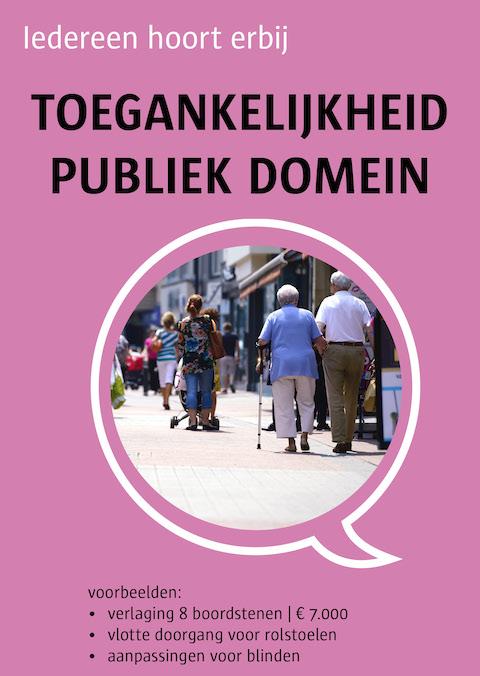 toegankelijk publiek domein