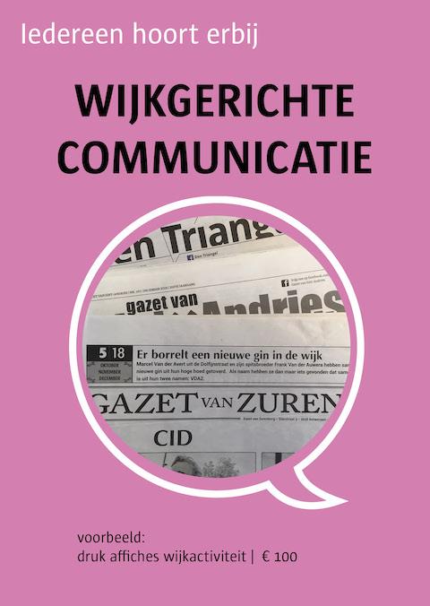 wijkgerichte communicatie