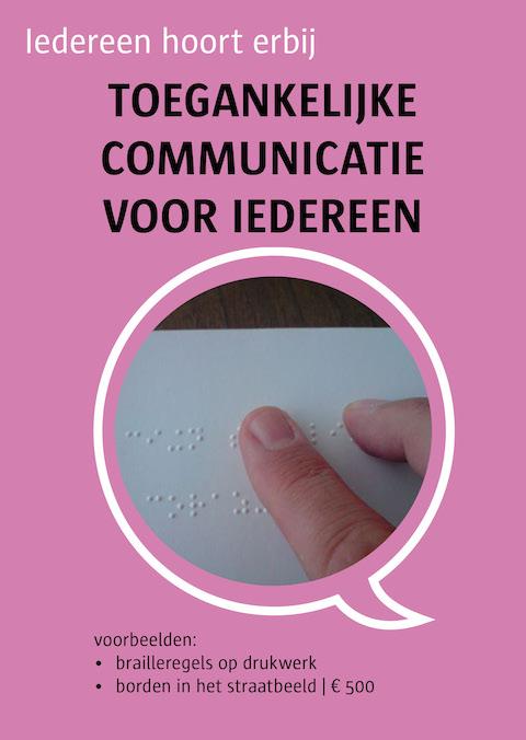 toegankelijke communicatie voor iedereen