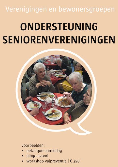 ondersteuning seniorenverenigingen